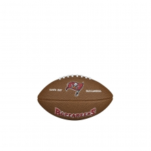 NFL Team Logo Mini Size Football - Tampa Bay Buccaneers by Wilson
