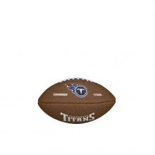 NFL Team Logo Mini Size Football - Tennessee Titans by Wilson