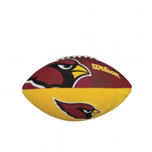 NFL Team Logo Junior Size Football - Arizona Cardinals by Wilson
