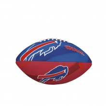NFL Team Logo Junior Size Football - Buffalo Bills by Wilson