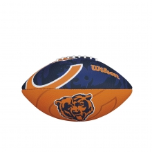 NFL Team Logo Junior Size Football - Chicago Bears by Wilson