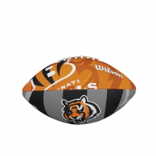 NFL Team Logo Junior Size Football - Cincinnati Bengals by Wilson
