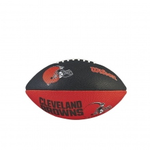 NFL Team Logo Junior Size Football - Cleveland Browns by Wilson