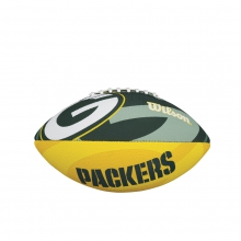 NFL Team Logo Junior Size Football - Green Bay Packers by Wilson