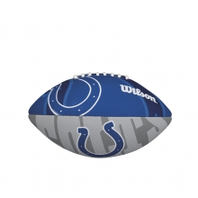 NFL Team Logo Junior Size Football - Indianapolis Colts by Wilson