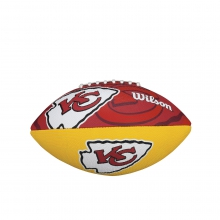 NFL Team Logo Junior Size Football - Kansas City Chiefs by Wilson