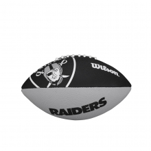 NFL Team Logo Junior Size Football - Oakland Raiders by Wilson