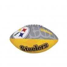 NFL Team Logo Junior Size Football - Pittsburgh Steelers by Wilson