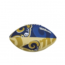 NFL Team Logo Junior Size Football - St. Louis Rams by Wilson