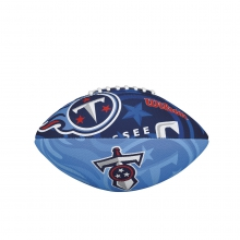 NFL Team Logo Junior Size Football - Tennessee Titans by Wilson
