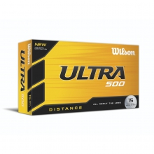 Ultra 500 Distance Golf Balls by Wilson