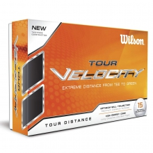Tour Velocity Golf Balls by Wilson