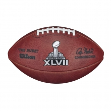 NFL Super Bowl XLVII Leather Game Football (Pro Pattern) by Wilson