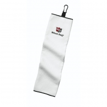 Wilson Staff Microfiber Trifold Towel by Wilson