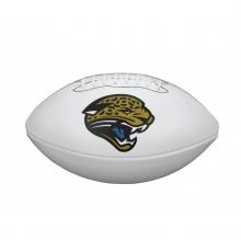 NFL Team Logo Autograph Football - Official, Jacksonville Jaguars by Wilson