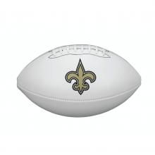 NFL Team Logo Autograph Football - Official, New Orleans Saints by Wilson