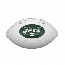 NFL Team Logo Autograph Football - Official, New York Jets by Wilson