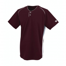 S200 Double Bar Mesh 2-Button Jersey - Youth