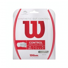 Synthetic Gut Control Tennis String by Wilson