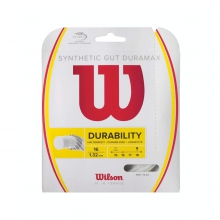 Synthetic Gut Duramax Tennis String by Wilson