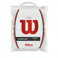 Pro Overgrip White - 12 Pack by Wilson