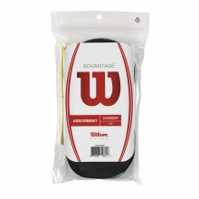 Advantage Overgrip Black - 30 Pack by Wilson