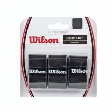 Ultra Grip Wrap Black - 3 Pack by Wilson
