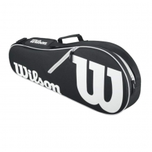 Advantage II Black & White 3 Pack Tennis Bag by Wilson
