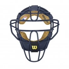 Dyna-Lite Steel Catcher's Facemask - Non Wrap Pads by Wilson