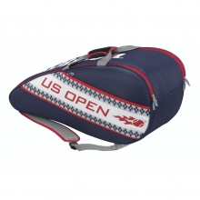 US Open Blue & Red 3 Pack Tennis Bag by Wilson