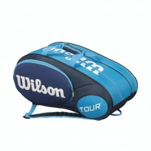 Mini Tour Blue 6 Pack Tennis Bag by Wilson