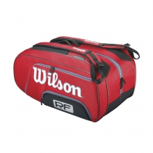 Federer Elite Red 12 Pack Tennis Bag by Wilson