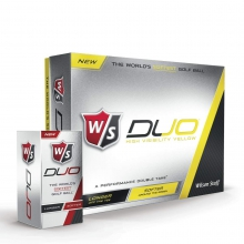 Wilson Staff Duo Golf Balls - Yellow by Wilson
