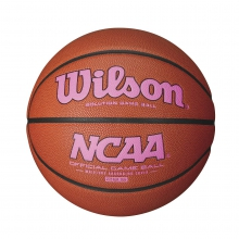 "NCAA Pink Basketball (28.5"") by Wilson"