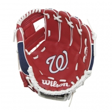"A200 Washington Nationals 10"" Tee Ball Glove by Wilson"
