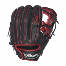 "A1K DP15 Red Accents 11.5"" Glove - Right Hand Throw by Wilson"