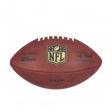 """""""The Duke"""" Laser Engraved NFL Football - Baltimore Ravens by Wilson"""