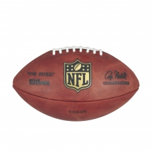 """""""The Duke"""" Laser Engraved NFL Football - Indianapolis Colts by Wilson"""