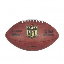 """""""The Duke"""" Laser Engraved NFL Football - New York Giants by Wilson"""