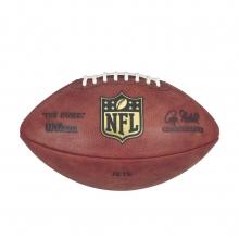 """""""The Duke"""" Laser Engraved NFL Football - New York Jets by Wilson"""