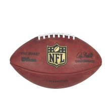 """""""The Duke"""" Laser Engraved NFL Football - San Diego Chargers by Wilson"""