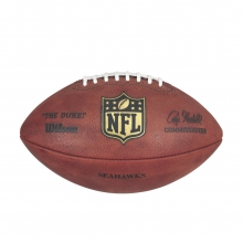"""The Duke"" Laser Engraved NFL Football - Seattle Seahawks by Wilson"