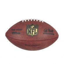 """""""The Duke"""" Laser Engraved NFL Football - Tampa Bay Buccaneers by Wilson"""