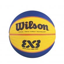 Fiba 3X3 Rubber Game Basketball by Wilson