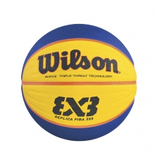Fiba 3X3 Rubber Game Basketball by Wilson