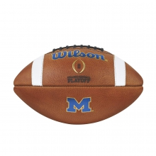 College Football Playoff Official Size Football - Michigan by Wilson