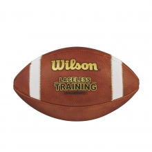 Laceless Training Football by Wilson