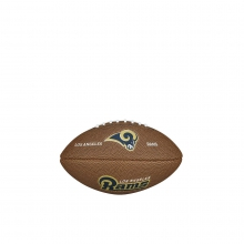NFL Team Logo Mini Size Football - Los Angeles Rams by Wilson