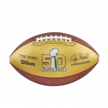 Super Bowl 50 Gold Football - Official by Wilson