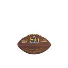 Super Bowl 50 Soft Touch Football - Mini by Wilson